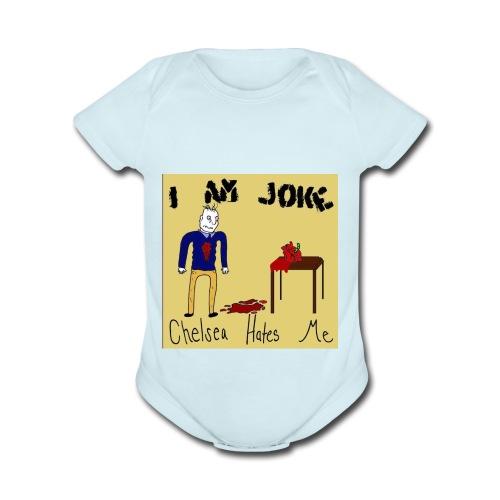 Joke - Organic Short Sleeve Baby Bodysuit