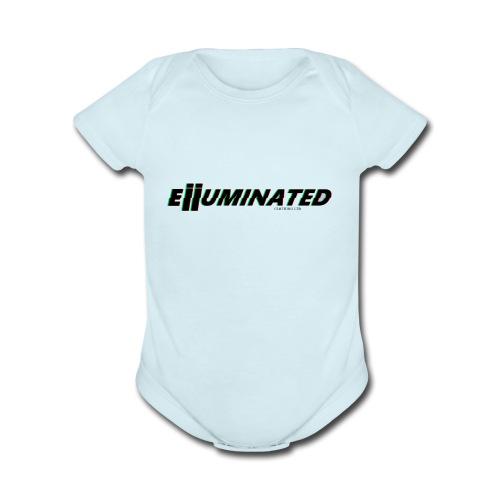 Eiiuminated Clothing V1 - Organic Short Sleeve Baby Bodysuit