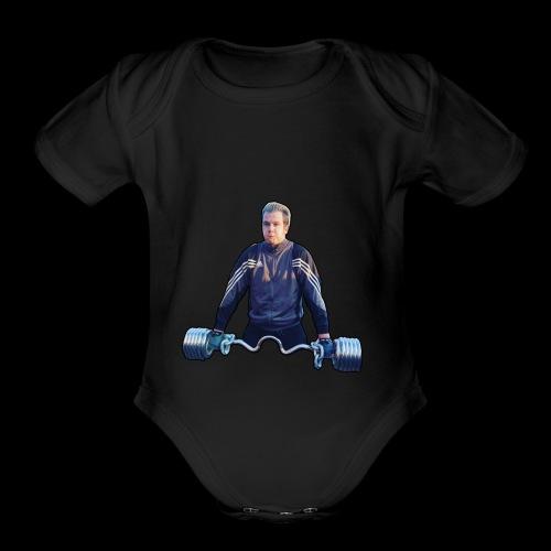 Rapper Sjors 3 - Organic Short Sleeve Baby Bodysuit