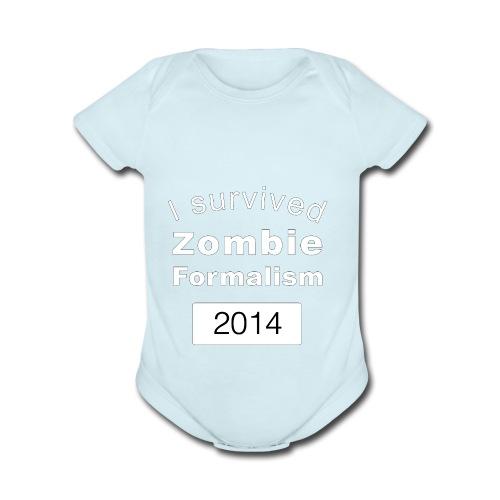 Zombie Formalism 2014 - Organic Short Sleeve Baby Bodysuit