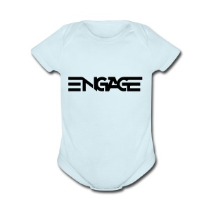 Engage-Logo-Vector - Short Sleeve Baby Bodysuit