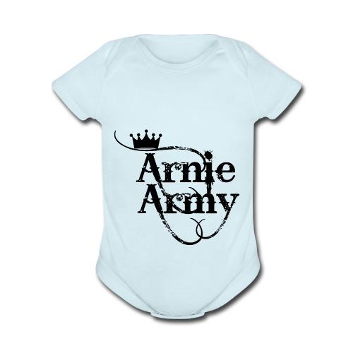 Arnie Army - Organic Short Sleeve Baby Bodysuit