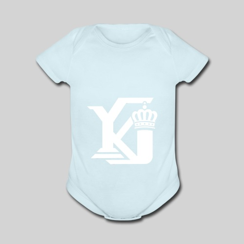 Evolve Sports Young King 17 - Organic Short Sleeve Baby Bodysuit