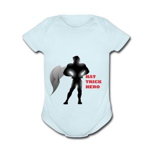 Hat Trick Hero - Short Sleeve Baby Bodysuit
