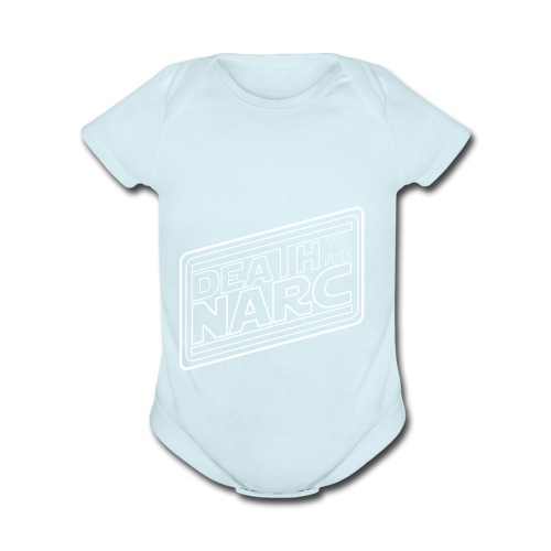 Death To The Narc - Organic Short Sleeve Baby Bodysuit