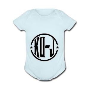 Ku-J - Short Sleeve Baby Bodysuit