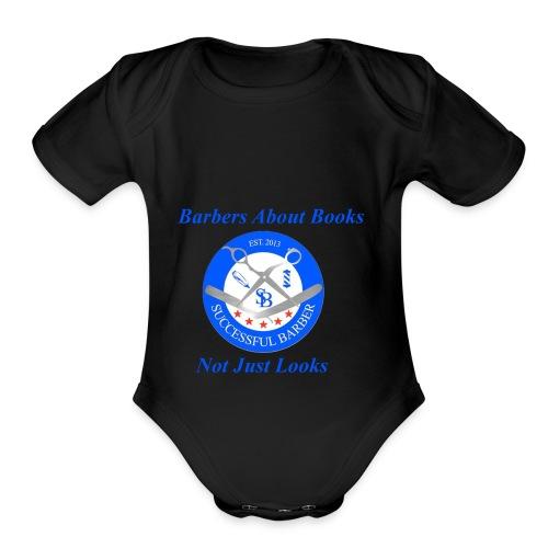 BarberShop Books - Organic Short Sleeve Baby Bodysuit