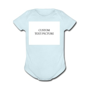 example - Short Sleeve Baby Bodysuit