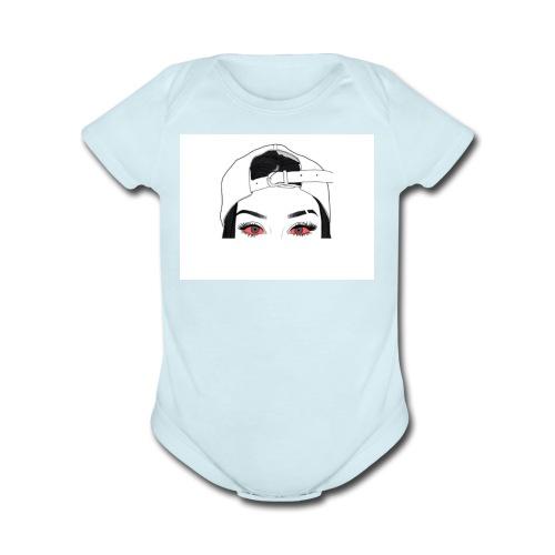 Ekoms Mo'to - Organic Short Sleeve Baby Bodysuit