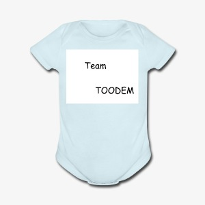 TEAMTOODEM - Short Sleeve Baby Bodysuit