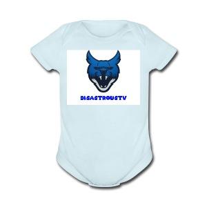 DisastrousTv MERCH - Short Sleeve Baby Bodysuit