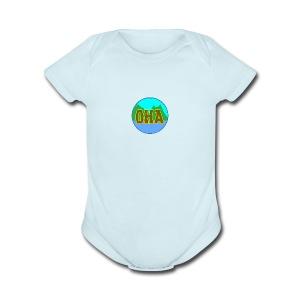 OHA - Short Sleeve Baby Bodysuit