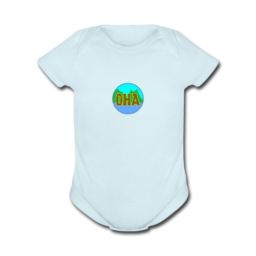 OHA - Organic Short Sleeve Baby Bodysuit