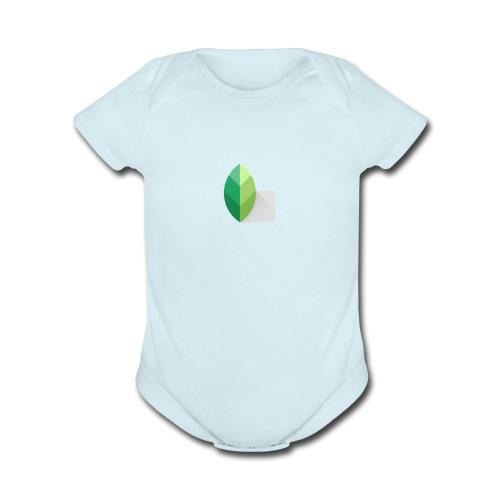 Leaf - Organic Short Sleeve Baby Bodysuit
