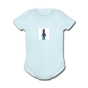 tv mccoy - Short Sleeve Baby Bodysuit