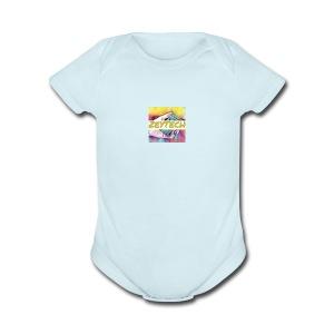 Hey merch - Short Sleeve Baby Bodysuit