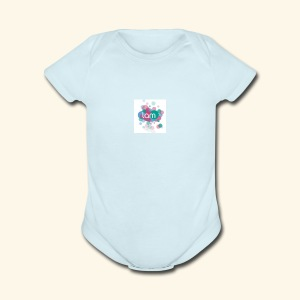 LAN BAND DISS TRACKS MAKERS - Short Sleeve Baby Bodysuit