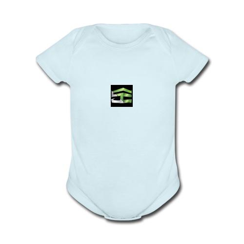 Se Marketing - Organic Short Sleeve Baby Bodysuit