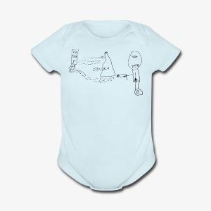 BattleBots - Short Sleeve Baby Bodysuit