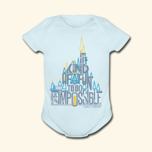 The Impossible - Short Sleeve Baby Bodysuit