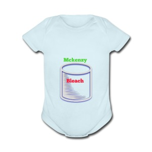 Dare bear bleach merch - Short Sleeve Baby Bodysuit