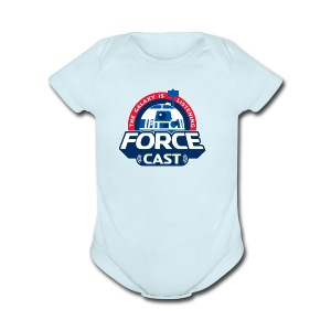 FORCE CAST LOGO - Short Sleeve Baby Bodysuit