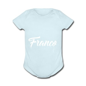 Franco Paint - Short Sleeve Baby Bodysuit