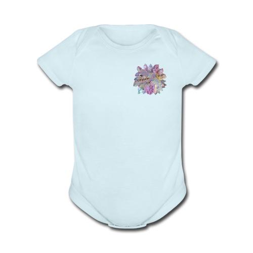 CrystalMerch - Organic Short Sleeve Baby Bodysuit