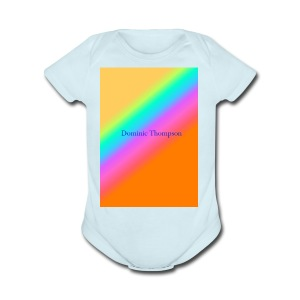 dom mearch - Short Sleeve Baby Bodysuit