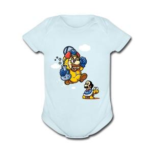 Walter Mario - Short Sleeve Baby Bodysuit