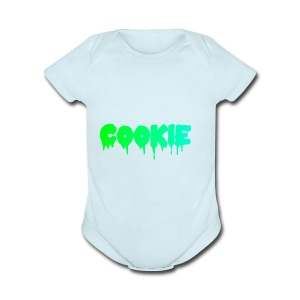 Cookie - Short Sleeve Baby Bodysuit