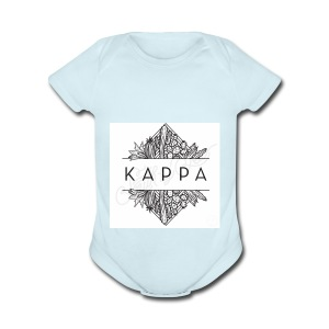 KappA - Short Sleeve Baby Bodysuit