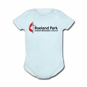 RPUMC Logo - Short Sleeve Baby Bodysuit