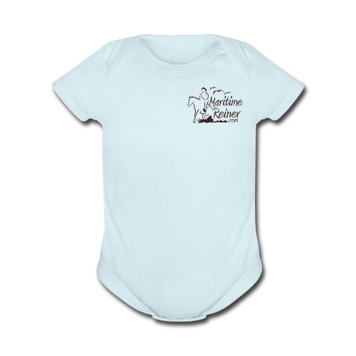 Maritime Reiner - Organic Short Sleeve Baby Bodysuit
