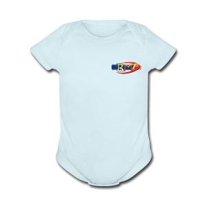 BlasterManFilms Logo - Short Sleeve Baby Bodysuit