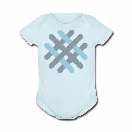 Quality Hill Logo - Organic Short Sleeve Baby Bodysuit