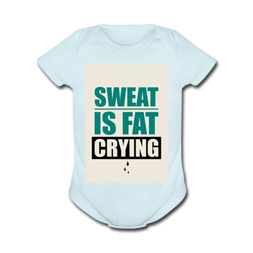 Gym Motivation 2017 Tank Top - Organic Short Sleeve Baby Bodysuit