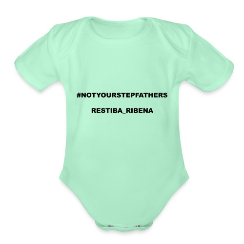 Restiba_Ribena Official Merch - Organic Short Sleeve Baby Bodysuit