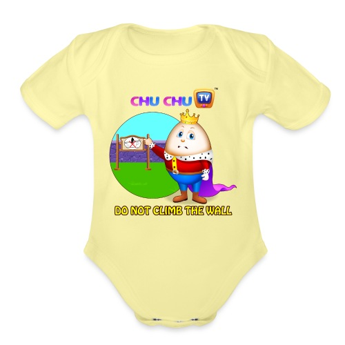 Motivational Slogan 7 - Organic Short Sleeve Baby Bodysuit