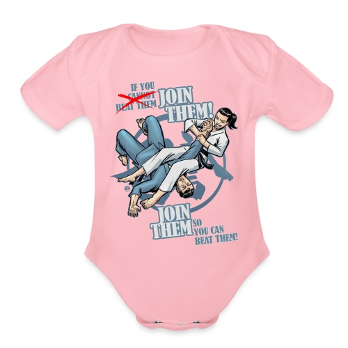 Join Them - Organic Short Sleeve Baby Bodysuit