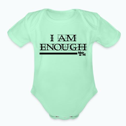 ENOUGH - Organic Short Sleeve Baby Bodysuit
