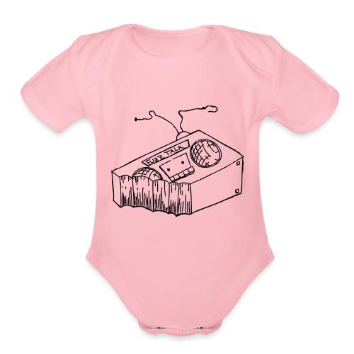 FTRLogoBlack png - Organic Short Sleeve Baby Bodysuit