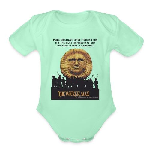 The Wicker Man 1973 Old - Organic Short Sleeve Baby Bodysuit