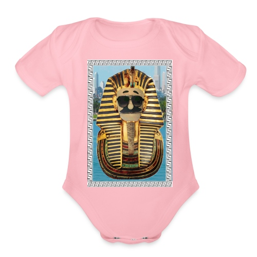 BFEgyptian Lover - Organic Short Sleeve Baby Bodysuit