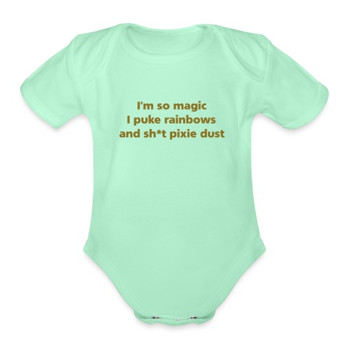 Im so Magic 2 - Organic Short Sleeve Baby Bodysuit
