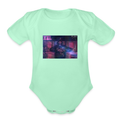 Herbo - Organic Short Sleeve Baby Bodysuit