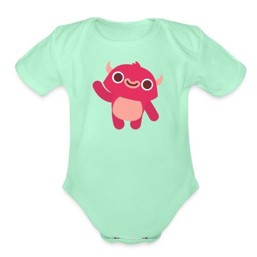Pinkerton Gear - Organic Short Sleeve Baby Bodysuit