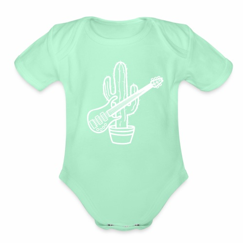 cactussolonofill - Organic Short Sleeve Baby Bodysuit