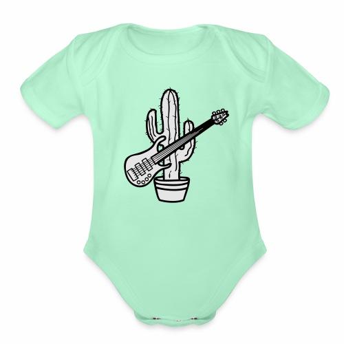 cactussolo - Organic Short Sleeve Baby Bodysuit