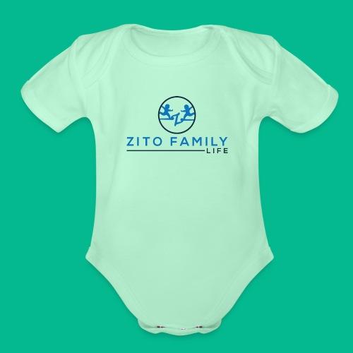 Zito Twins Shop - Organic Short Sleeve Baby Bodysuit